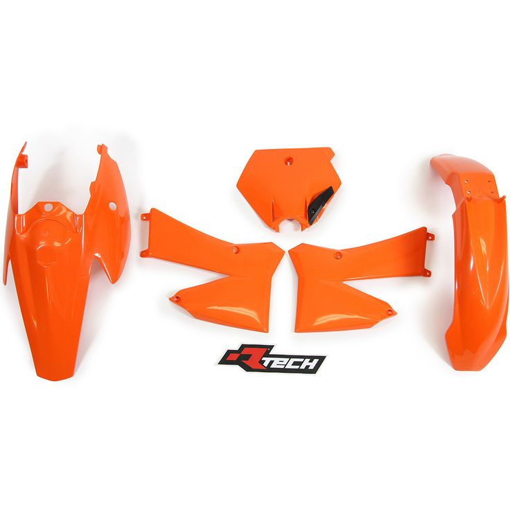 Racetech KTM 85 SX 06-12 Orange Plastics Kit