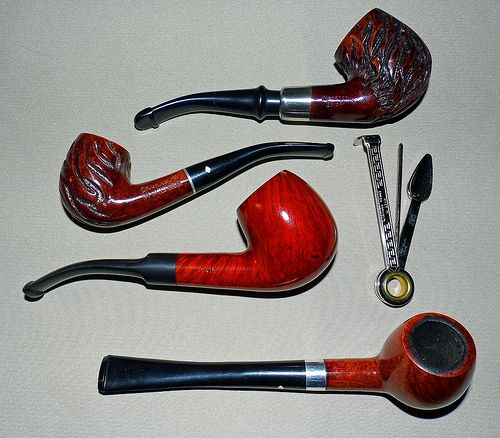 Vintage Tobacco Pipes  my dad had some of these.  also remembering him cleaning the bowl