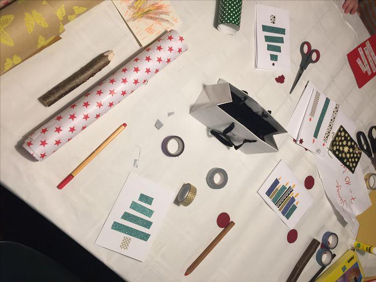 Von #Waffelduft, großen und kleinen #Wunscherfüllern und der #Sevenval Weihnachtskarten-Manufaktur