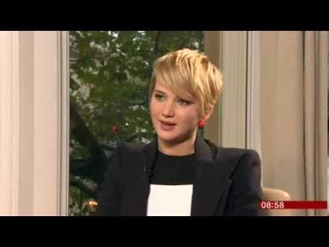 ▶ Jennifer Lawrence Hunger Games Catching Fire Interview BBC Breakfast 2013 - YouTube