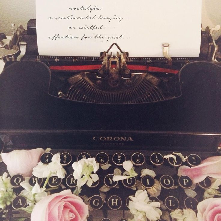 "Bella Grace Magazine on Instagram: ""Another simple joy: nostalgia. I always find myself falling in love with old photographs, songs, or pieces of the past - this typewriter was my great great grandmother's ❤️ What makes you the most nostalgic? -@hayleysolano // #bellagraceguest"""