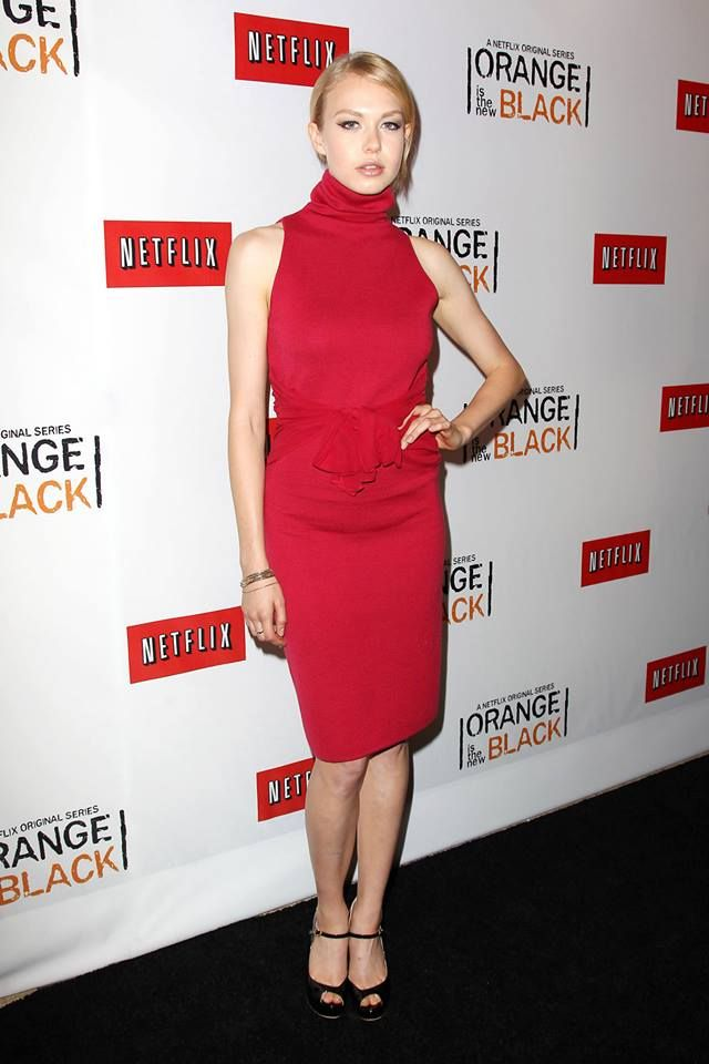 Penelope Mitchell at the Netflix Presents 'Orange is the New Black' premiere in NYC. #OITNB