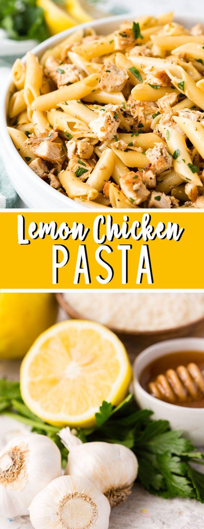Lemon Chicken Pasta