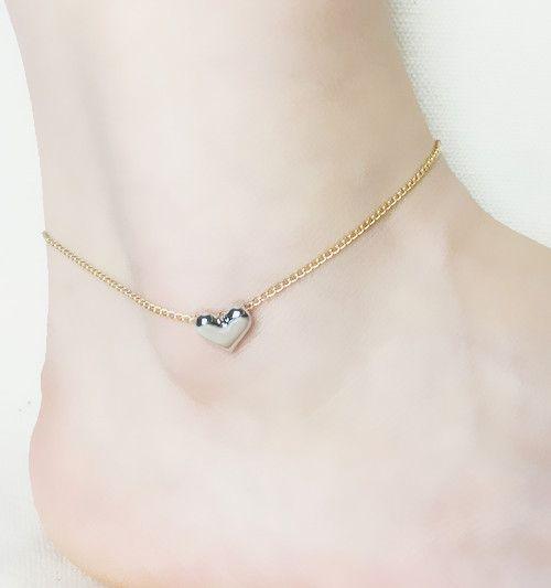 Купить Аксессуары ювелирные изделия в форме сердца ножные браслеты подарок для женщины девочка AN35и другие товары категории Ножные браслетыв магазине just do my bestнаAliExpress. сувенирного и подарок отца