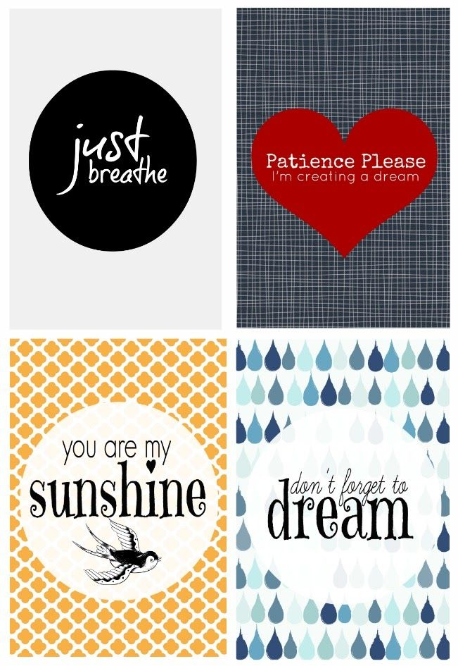 Free Creative Printables from Life Love and Hiccups