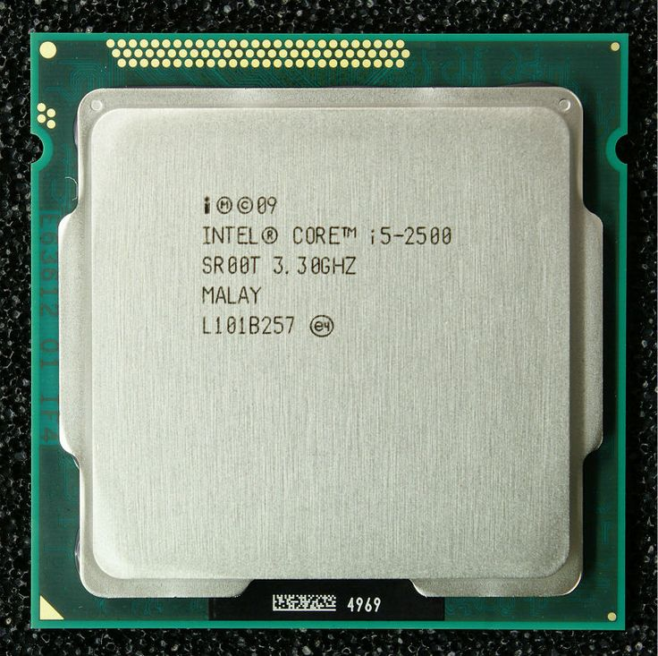 Intel i5 2500 Processor Quad-Core 3.3GHz LGA 1155 TDP 95W 6MB Cache i5-2500 cpu #men, #hats, #watches, #belts, #fashion, #style, #sport