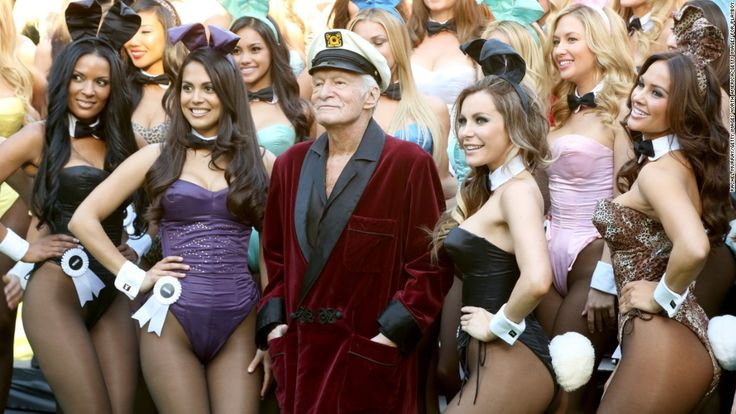As news of Hugh Hefner's death spread, the women featured in his Playboy magazine paid tribute to the man who helped launch their careers.