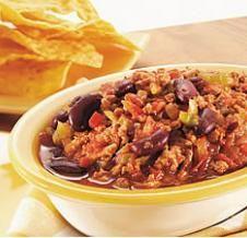 Chili corn carne de dindon Minçavi (recette du Salon Rendez-vous HRI 2008)