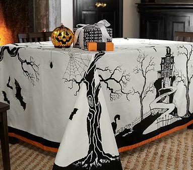 Halloween Tablecloth #pbkids