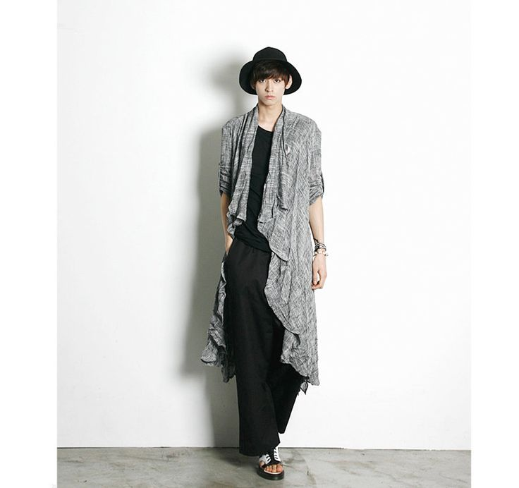 Open-Front Oversized Cardigan
