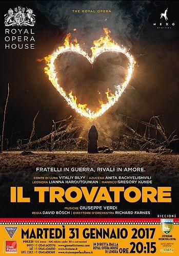 Riccione: Alla rassegna Cinema in diretta Il Trovatore di Giuseppe Verdi