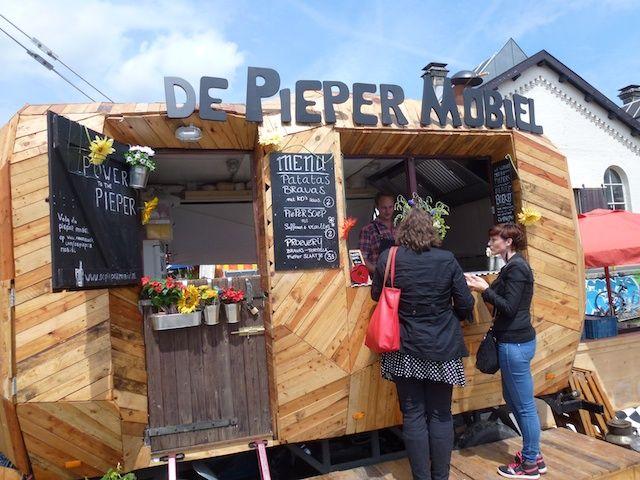 Pieper Mobiel: eten in het teken van de aardappel - Vervang obligate vormen  door verrassende, creatieve alternatieven