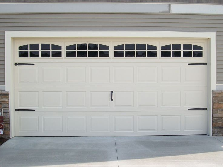 Exceptional Decorative Hardware For Garage Doors #11: Doors Garage Door Decorative Hardware With One Garage Hardware In The Middle Of The Garage Also