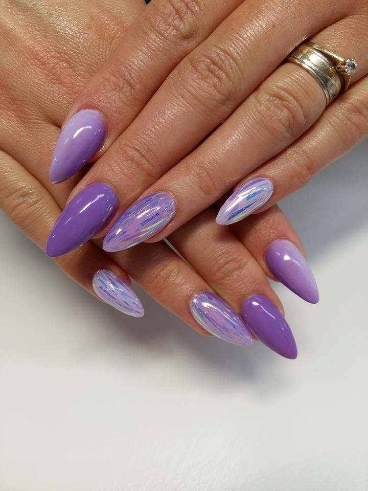 @pelikh_Lavender, Madame Butterfly Gel Brush, Mermaind Foil by Paula from Madeleine…