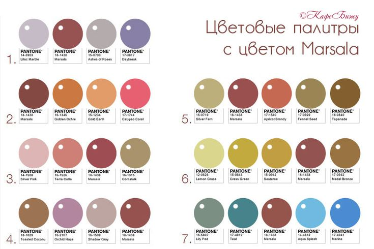 marsala-palette