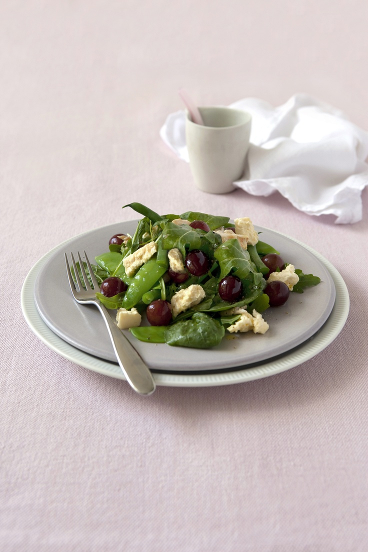 Red Grape and Fetta Salad - a recipe from the Grape Shape Healthy Eating Plan! See http://www.australiangrapes.com.au/media/