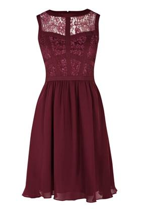 Lace Bodice Dress | Warehouse