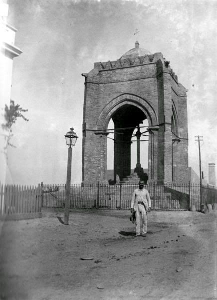 El Templete de la Cruz del Campo a finales del siglo XIX. #SevillAyer