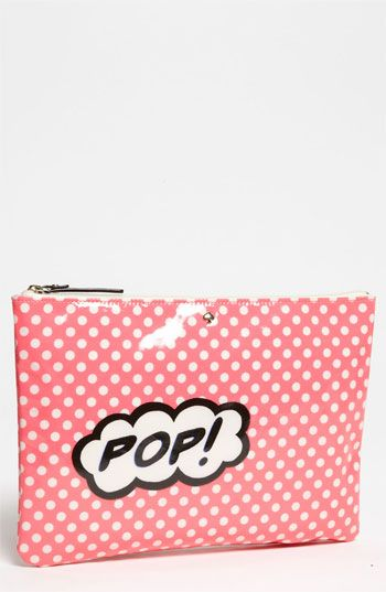kate spade new york 'daycation - gia' cosmetic pouch available at #Nordstrom