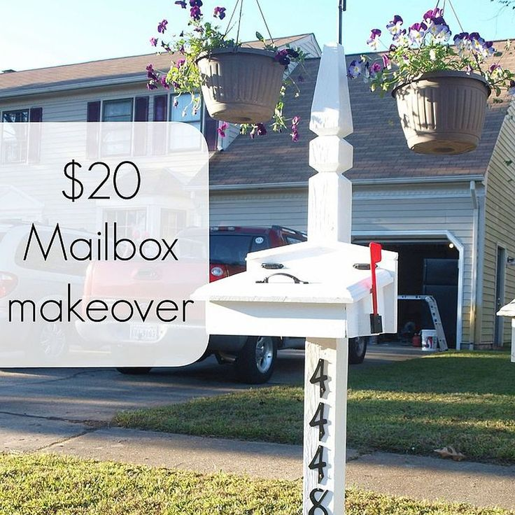 Quick and Cheap Mailbox Makeover