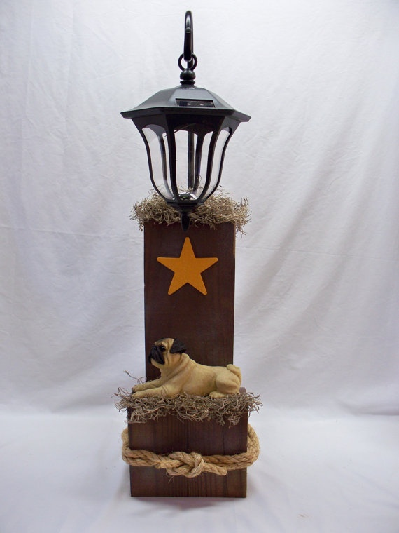 97 best fence post ideas images on pinterest solar for Solar lights for craft projects