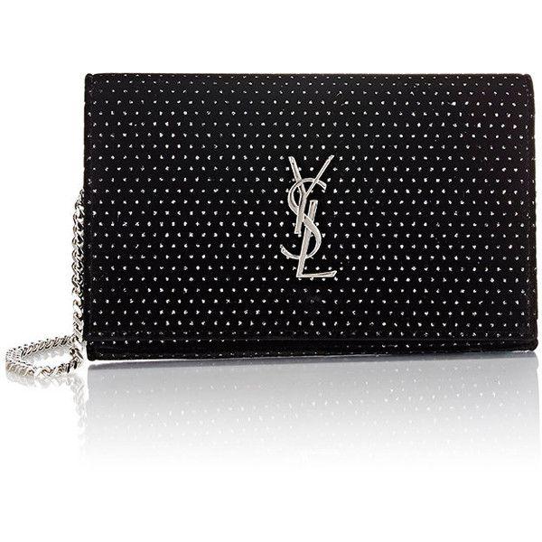 yves saint laurent monogram lurex star shoulder bag