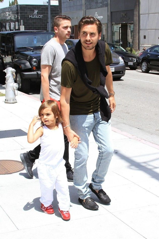Can't get enough of Lord Disick and his son
