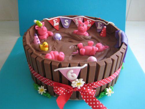 Varkentjes in de modder taart / pigs in the mud cake