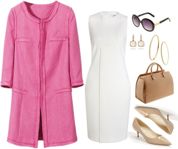 """""""Jackie Kennedy in the Day"""" by poshpersona ❤ liked on Polyvore"""