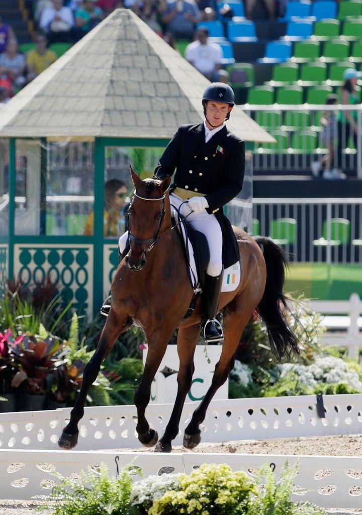 DAY 1 - EQUESTRIAN: Individual Eventing Dressage - Padraig McCarthy of Ireland riding  Simon Porloe