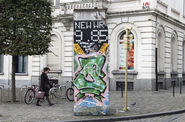 Secretos de Bruselas II: el muro de Berlín también está aquí