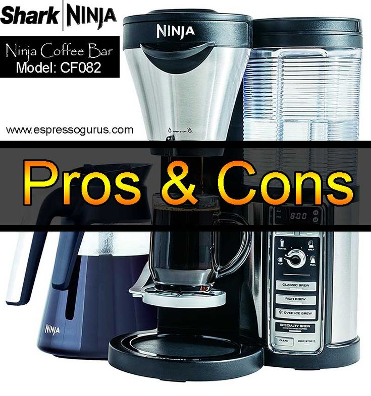 Ninja Coffee Bar System - CF082 Pros & Cons - Coffee Maker System - Complete Barista System Review