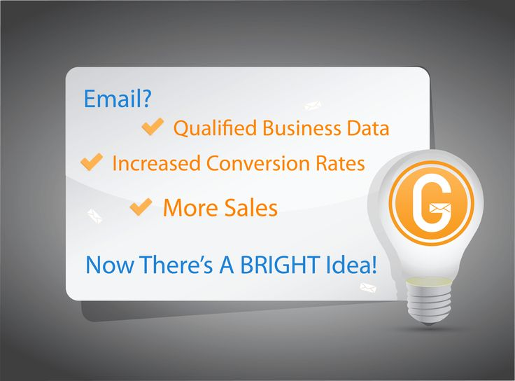 Increased conversion rates, qualified business data and more sales? Bright idea, let's go!  #Cardiff #Bristol #London