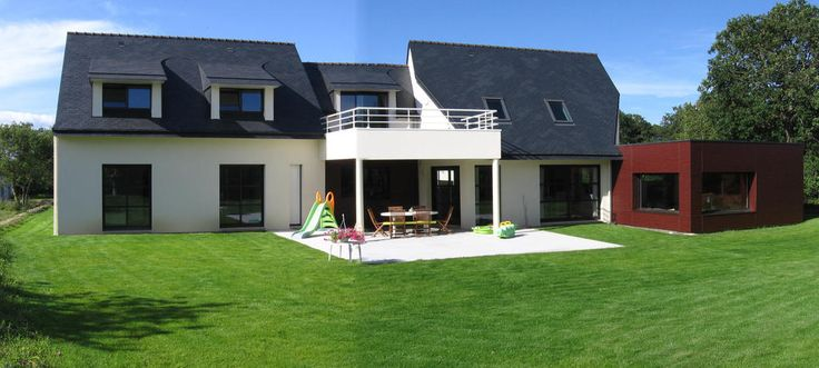 17 meilleures images propos de nos constructions maisons contemporaines sur pinterest for Maison moderne domotique