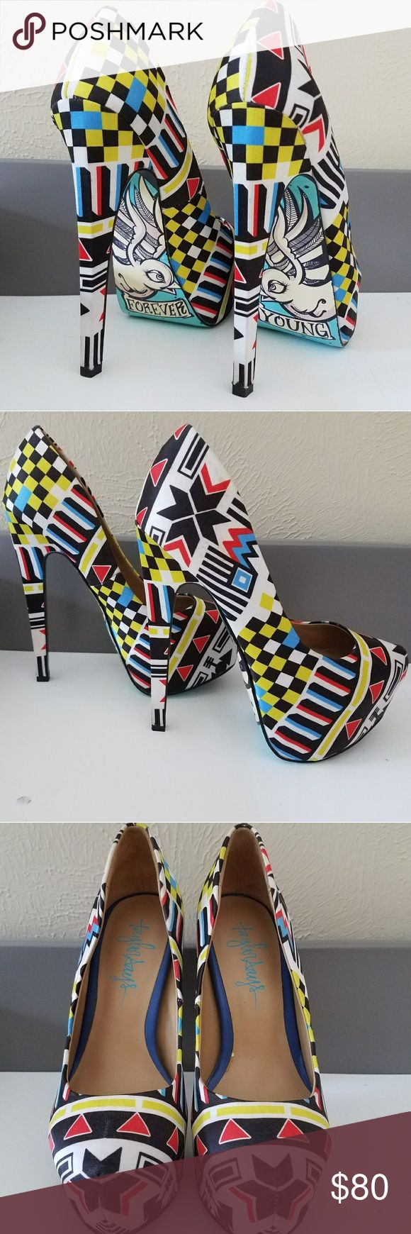 Roddie- Navaho Taylor Says pumps Heels  worn only once! Forever young bottoms. Snug fit for a more confident  walk  ;) . Shoes Heels