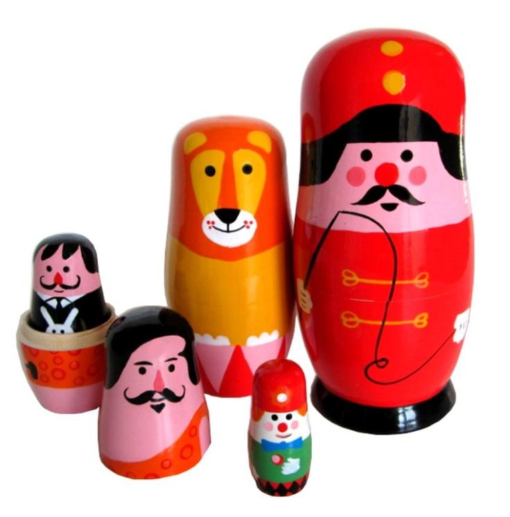 Circus Russian Dolls