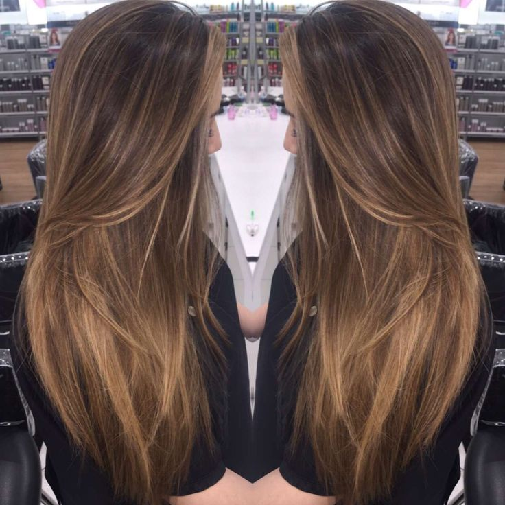 Baby lights &balayage by @rlvxhair