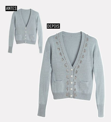 Learn how to decorate your cardigan for the winter - Fashion, Beauty, Style, Customization and Revenue - Mannequin - Editora Abril