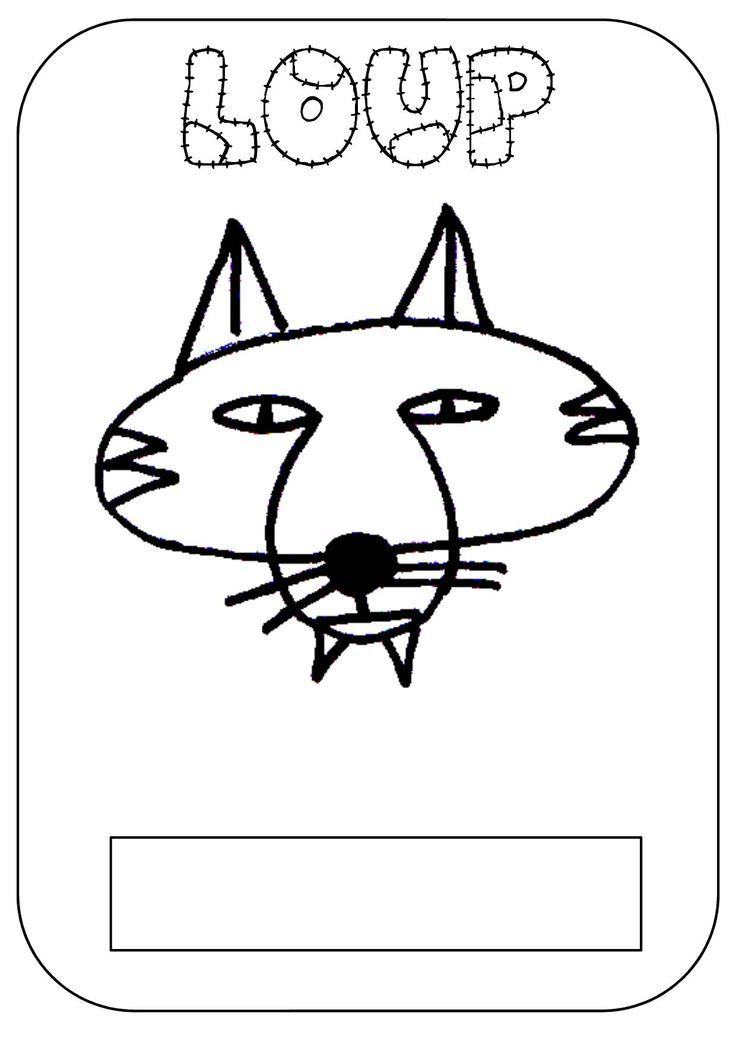 un fichier sur le loup (comptines, lecture, math)