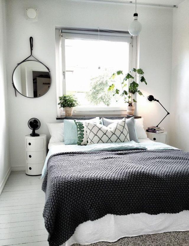 Les 25 meilleures id es de la cat gorie d coration de petite chambre sur pinterest for Deco petite chambre simple