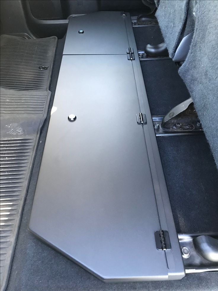 2014-2020 Toyota Tundra CrewMax Long Box Under Seat ...