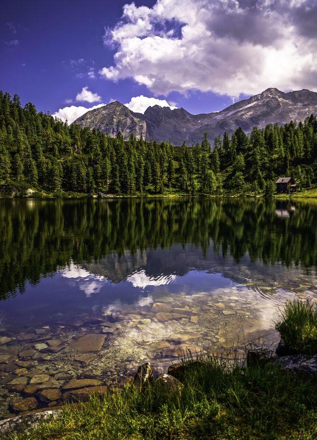 Reedsee Lake by Christoph Oberschneider, via 500px; Bad Gastein, Austria