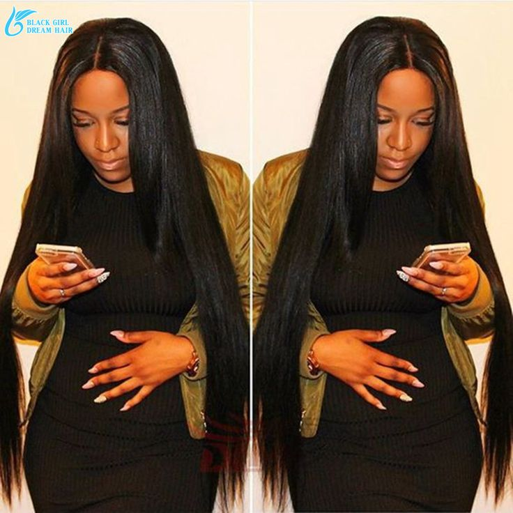 Virgin Brazilian Glueless Silky Straight Full Lace Wigs For Black Women Human Hair Lace Front Wigs With Baby Hair No Tangle