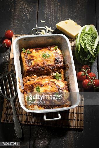 Stock Photo : Lasagne