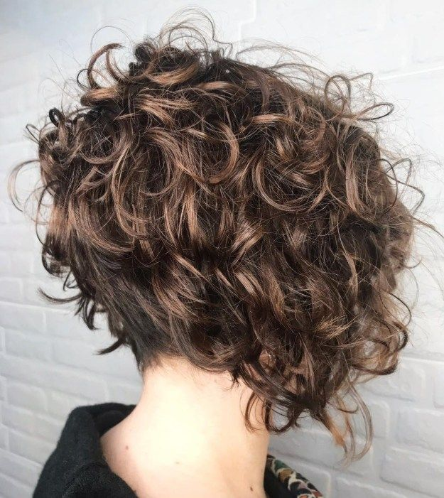 31++ Bob hairstyles for curly hair ideas