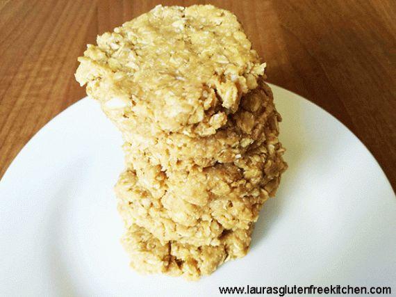 No Bake Peanut Butter Coconut Oatmeal Cookies