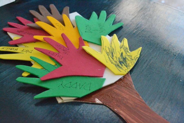 Thanksgiving Tree Kids Craft
