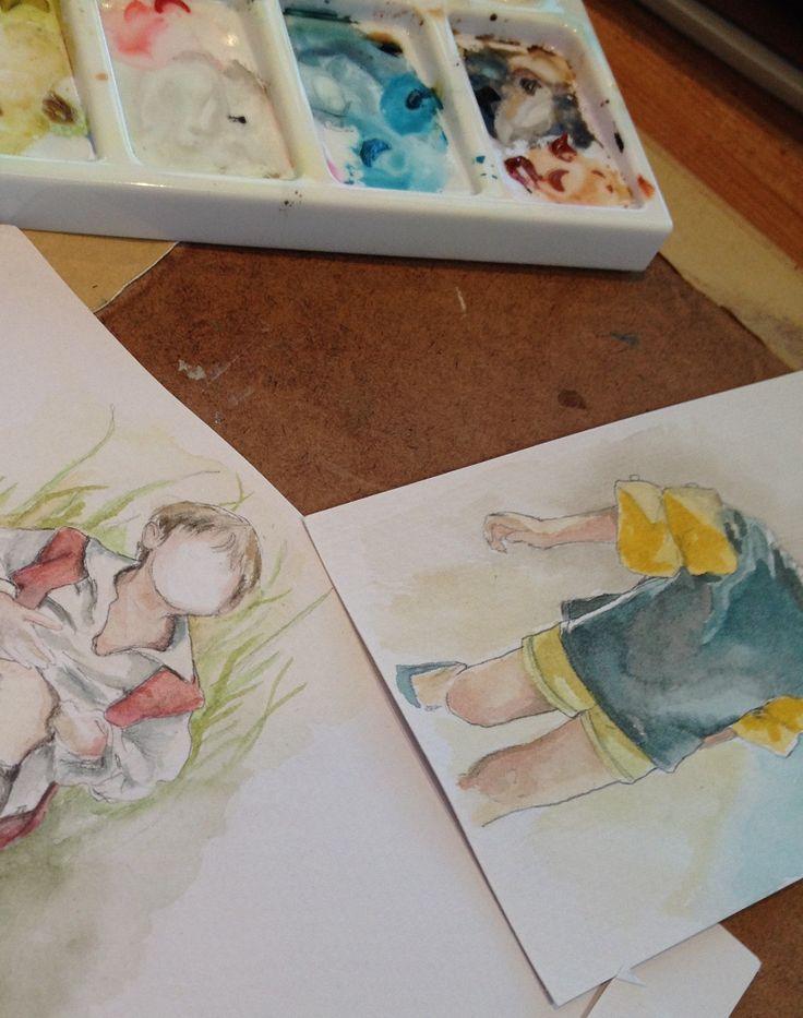 Watercolour sketches