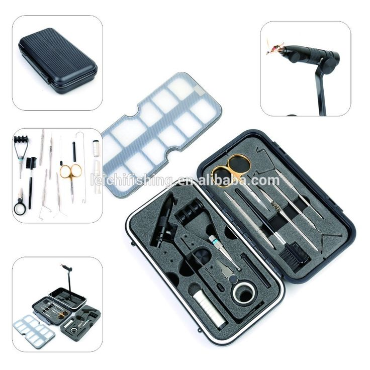 Great Performance Travel Fly Tying Vice Fly Tying Tool Kit - Buy ...