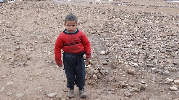 Si vs étiez le membre de notre équipe qui a pris la photo de ce petit cœur syrien, que lui diriez-vous?   JeSuisUneVie